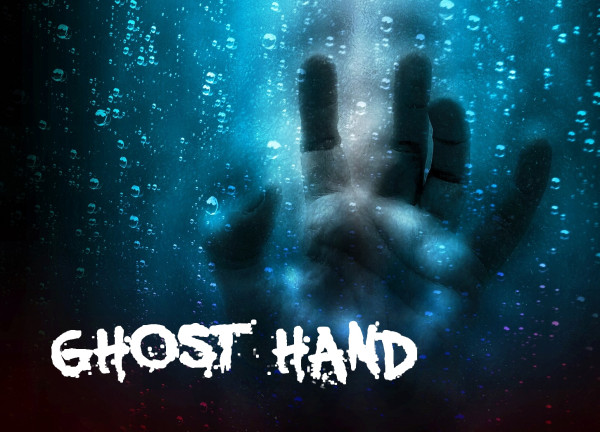GHOST HAND Halloween Clouds