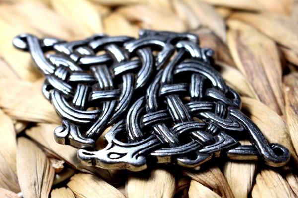 DRAGON Keltische Schließe - Silber